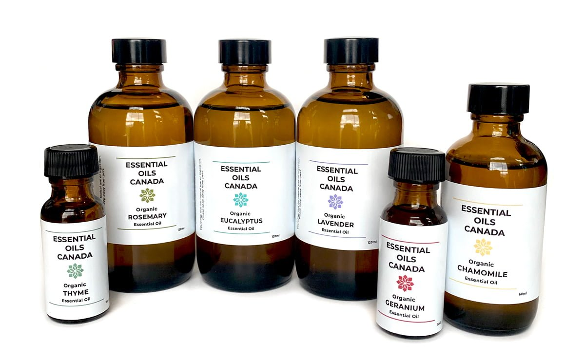 Essential Oils Canada Bottles